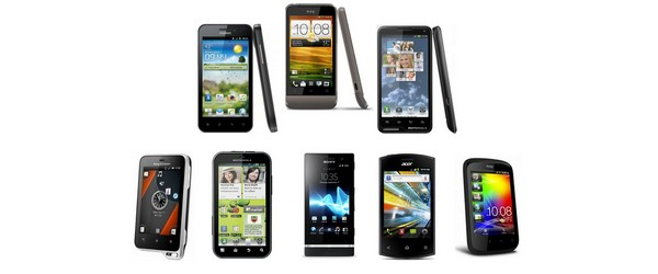 Photos : Smartphones Android