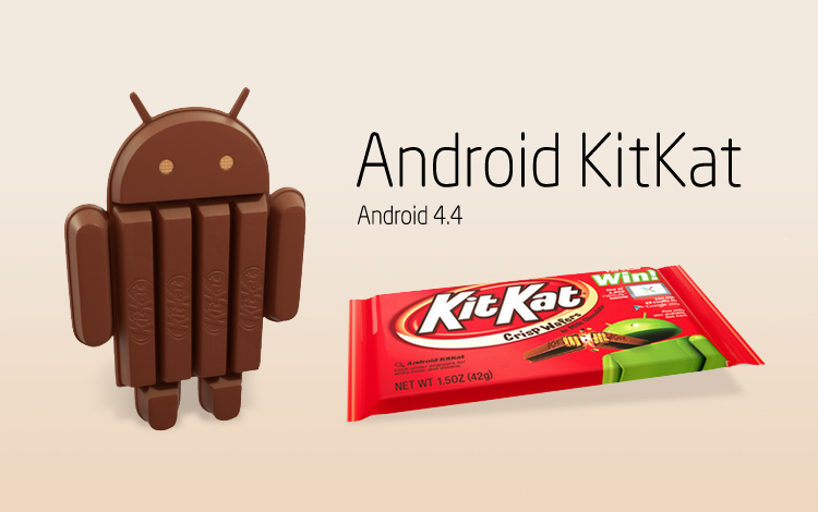 Photo : Android 4.4 KitKat