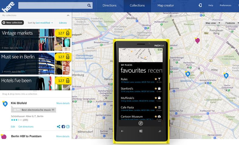 Photo : Nokia Here