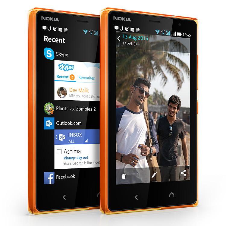 Photo : Nokia X2