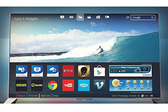 Photo : TV 4K Philips Android