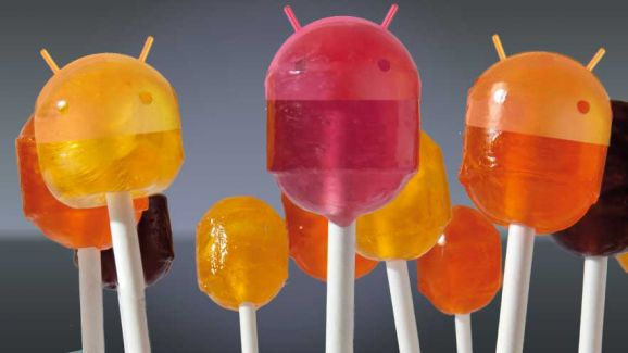 Photo : Android 5 Lollipop