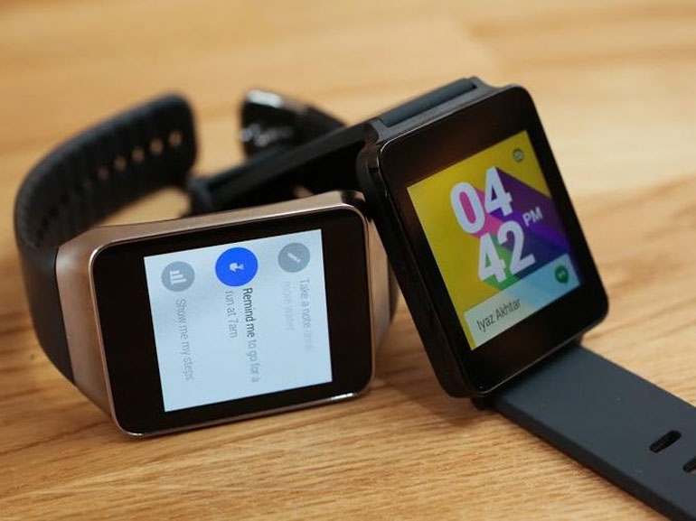 Photo : android Wear et Ios