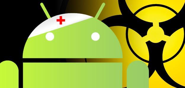 Photo : Virus Android