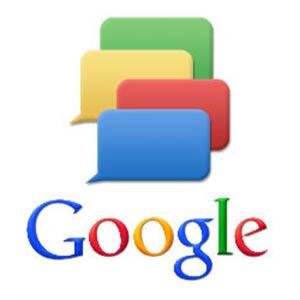 Photo : service de messagerie instantanée par Google