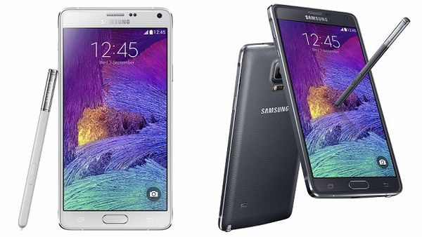 Photo : Version dual sim galaxy note 4