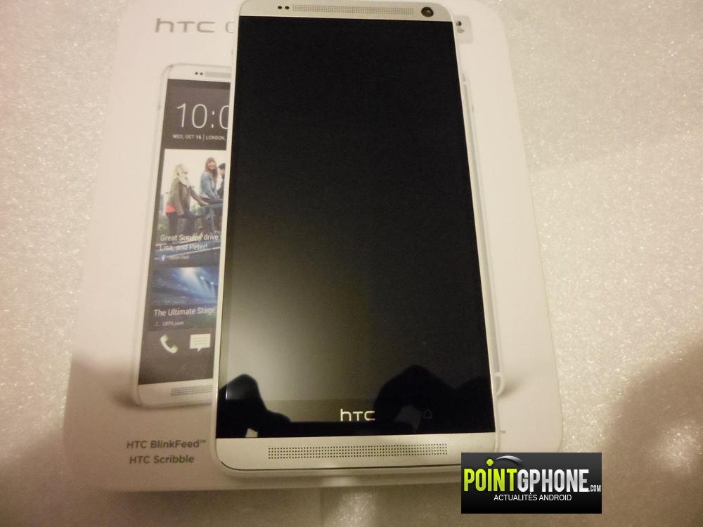 Test écran HTC One max 1