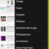 Test HTC One max ecran navigateur web 3