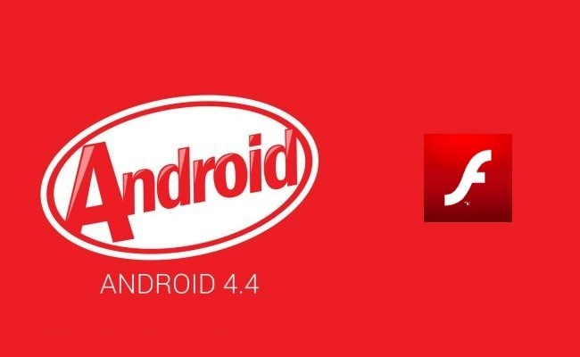 flash player pour android 4.4 kitkat 3698