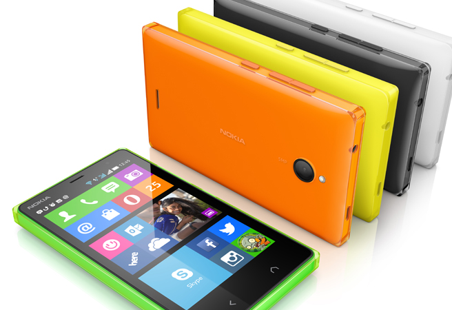 Photo : Android pour Nokia