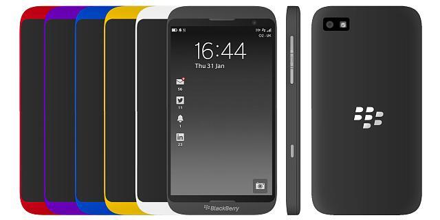 Photo : Blackberry Z20