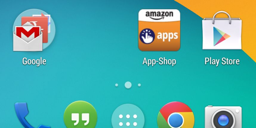 L'application Android d'Amazon