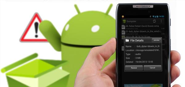 Photo : notifications supprimées sous Android