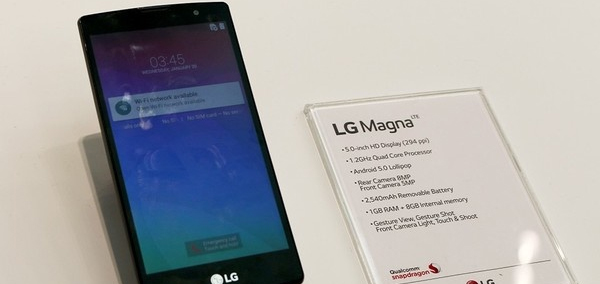Photo : LG Magna