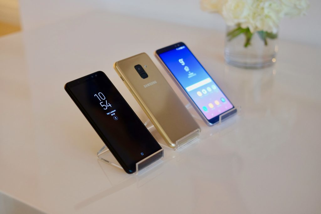 Samsung Galaxy A8 differente couleur