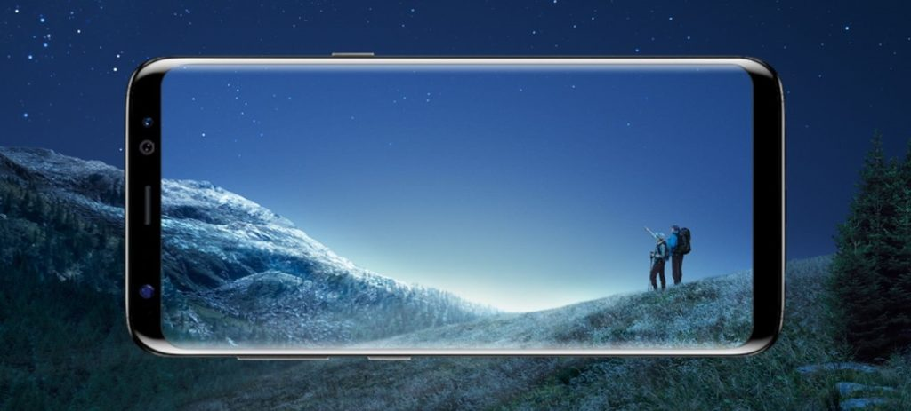 écran Samsung Infinity Galaxy S8