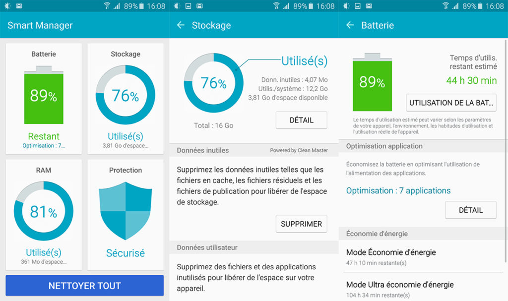 smart manager samsung galaxy j5 2017
