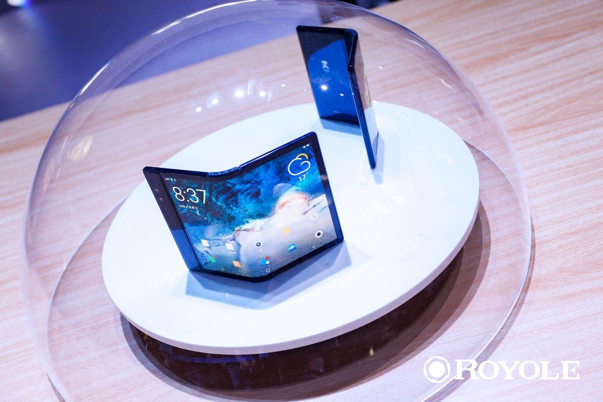 smartphone pliable flexpai