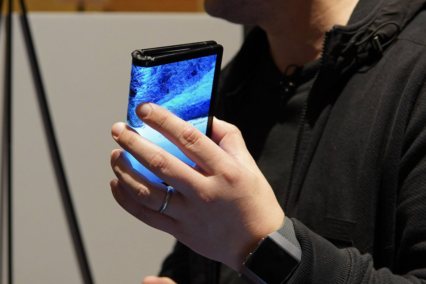 premier smartphone pliable