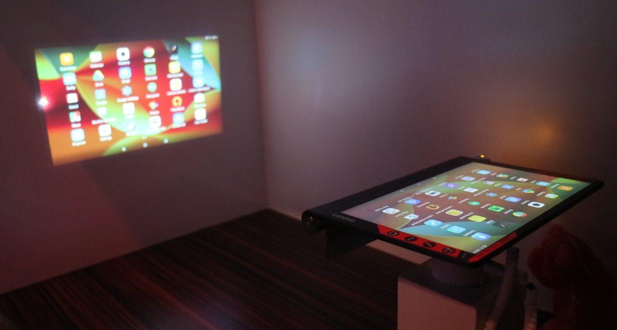 tablette Lenovo Yoga Tab 3 Pro projecteur