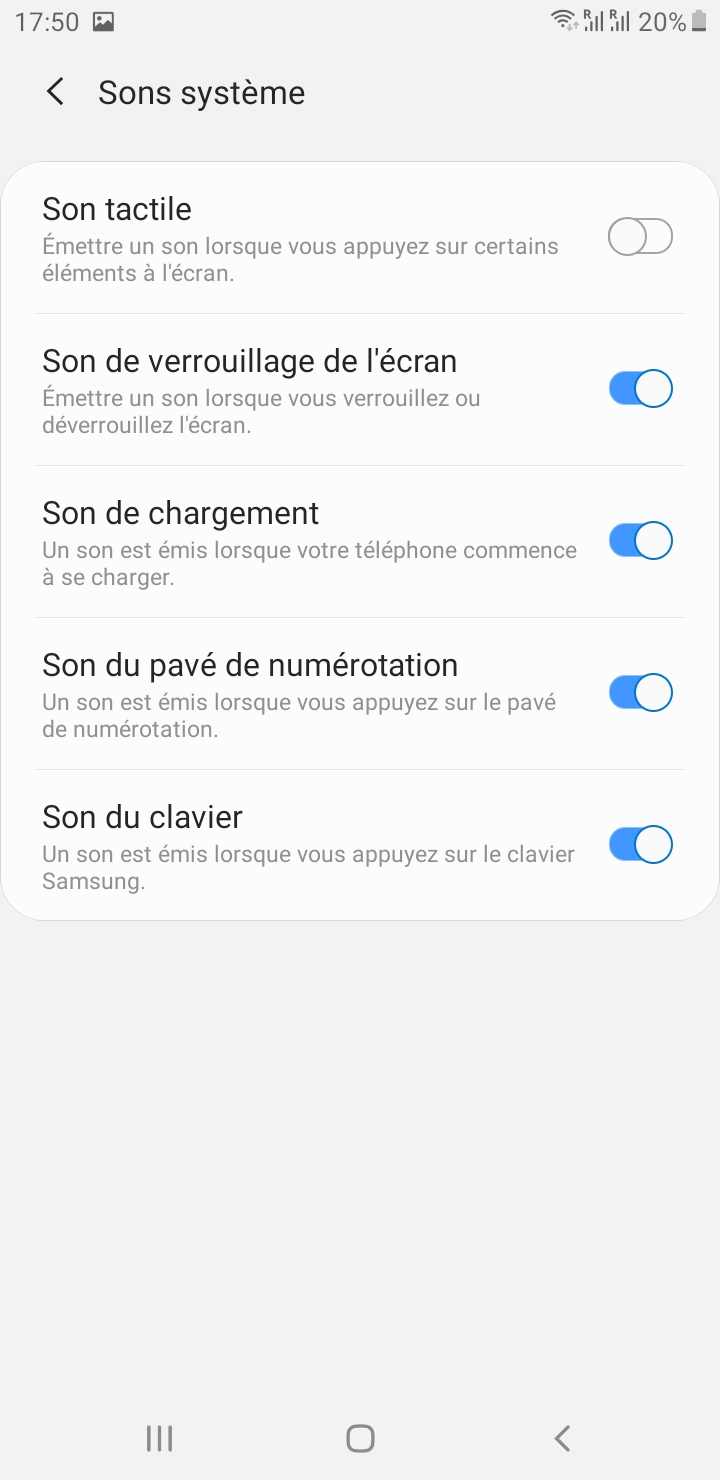 tutoriel android couper volume
