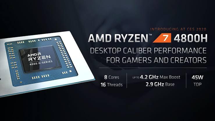 AMD Ryzen 4800H