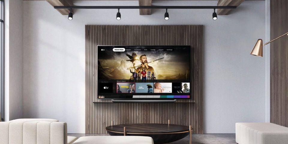 Apple TV disponible sur téléviseurs LG
