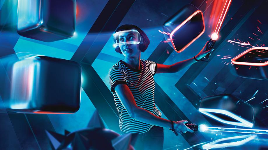 jeu VR beat saber