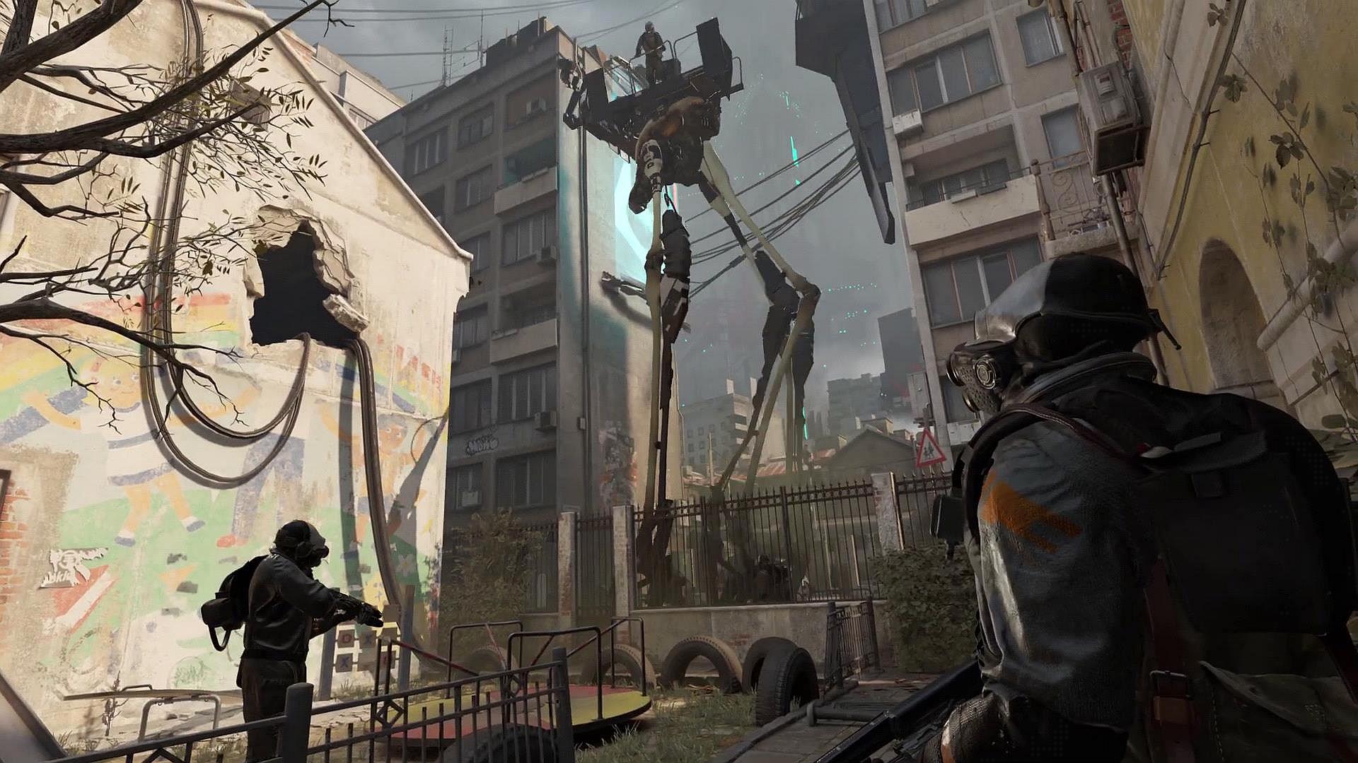 jeu VR half life alyx